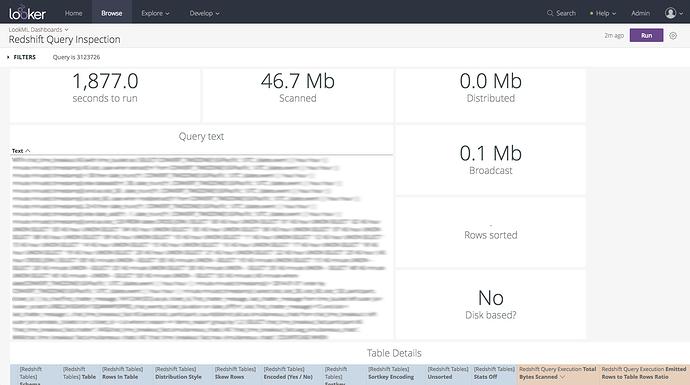 Analytic Block] Redshift Performance Optimization – Looker Help Center